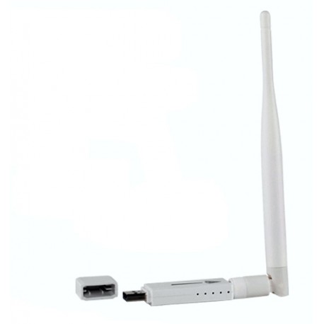 Antena WIFI para PC sobremesa USB chip RT3070 portátil Windows