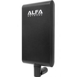 Antena WIFI panel 5ghz doble banda ALFA APA-m25 RP-SMA Patch direccional