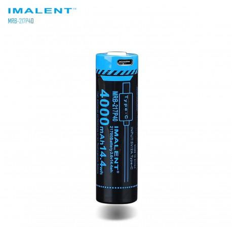 MRB-217P40 battery size 21700 4000mAh USB type C