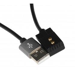 Cable de carga USB magnético para IMALENT DM21C / LD10 / LD70
