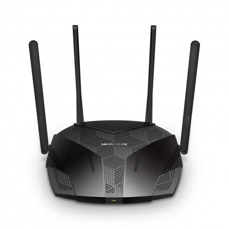 Roteador AX1800 Mercusys MR70X de banda dupla WiFi 6 de 1,8 GBPS