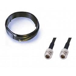 Extensão de cabo LMR400 de 9 metros Antena wi-fi N fêmea / N
