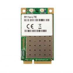 Carte miniPCi-e Mikrotik R11e-LTE 2G / 3G / 4G / LTE avec 2
