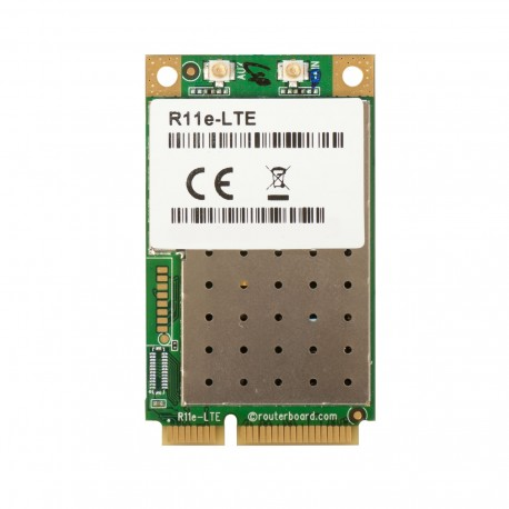 Mikrotik R11e-LTE 2G / 3G / 4G / LTE miniPCi-e card with 2 u.FL