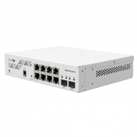 Mikrotik CSS610-8G-2S+IN Cloud Smart Switch with 8 x Gigabit ports, 2 x SFP