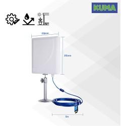 KUMA Wifi USB Adapter – 600Mbps Dual-Band Long Range Internet
