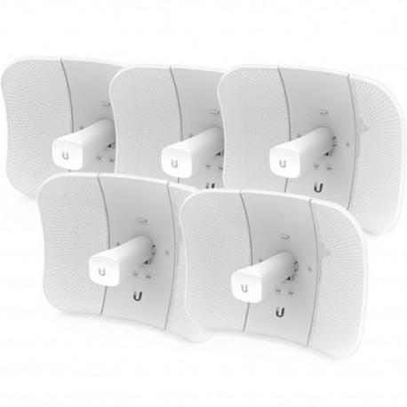 Pack 5 pieces UBIQUITI LBE-5AC-GEN2-5 5GHz LiteBeam