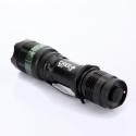 Linterna LED CREE 7W 400 lumens Q5 con zoom ajustable LEDS 400Lm