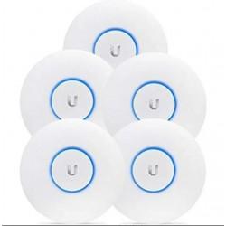 Ubiquiti UniFi UAP AC PRO 5 Pack 5 Unités de point d'accès 3x3 MIMO