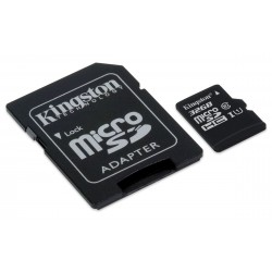 microSDHC 32 go classe 10 de Kingston SDC10G2 UHS-I carte mémoire