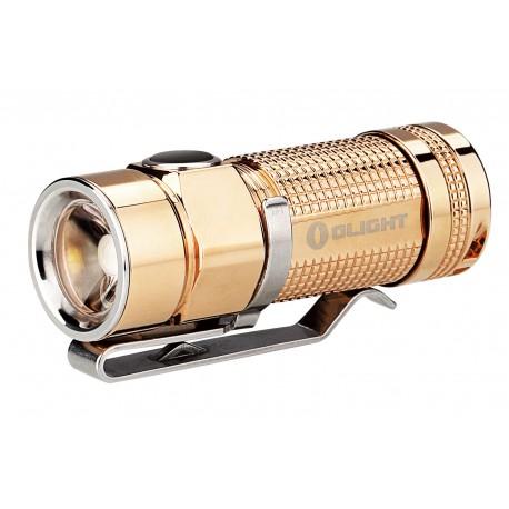 OLIGHT S1 BATON titane poli lampe de poche de poche Poli LED