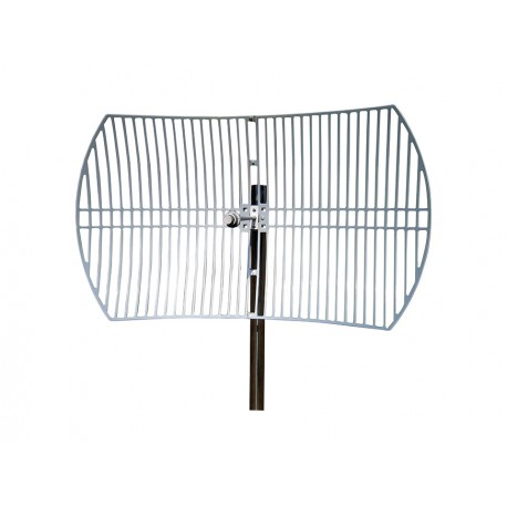 Antena WIFI Parabólica de Rejilla de 30dBi 5GHz 5.8Ghz Grid exterior
