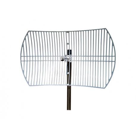 Antena WIFI Parabólica de Rejilla de 30dBi 5GHz 5.8Ghz Grid