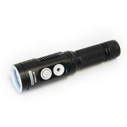 Rechargeable Tactical Torch LED IMALENT DD2R Touchscreen control