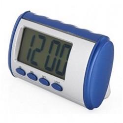 Horloge parlante de langue espagnole de la voix et raconte le temps d'alarme numérique