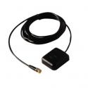 Antena GPS SMA 3m Cabo Conector Fêmea Suporte Magnético Carro