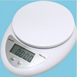 Bilancia da cucina digitale di precisione per ricette dieta 5_kg g