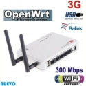 Router OPENWRT Repeater USB WIFI N 300MBPS AP 2 antennas MIMO