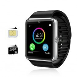 Smartwatch SIM slot Bluetooth Android NFC mobile phone
