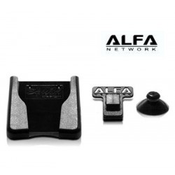 Suction cup Clip Window or Laptop Mount dock ALFA Network AWUS036XX