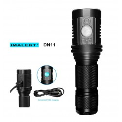 Wiederaufladbare Taschenlampe Imalent DN11 LED-Taschenlampe XPL-HI LED-CREE-touch-LCD