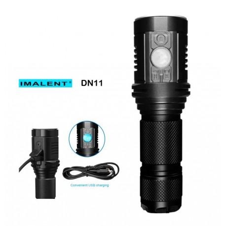 Linterna Recargable tactil pantalla LCD Imalent DN11 CREE XPL