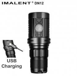 DN12 Imalent rechargeable flashlight by micro USB LED CREE XPL HI