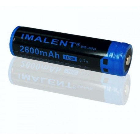 18650 Akku 3,7 v Akku 2600mAh Imalent geschützt PTC Li-ion