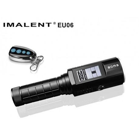 Linterna LED con mando a distancia 1080 lumenes + luz UV / Roja