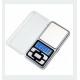 Bascula precision digital de bolsillo con tapa 500g / 0,1 g