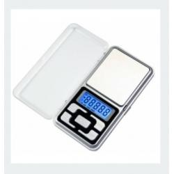 Balança de precisão digital de bolso, com tampa 500g / 0,1 g
