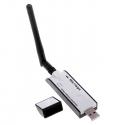 Receptor USB WIFI N 300MB Realtek RTL8191 MIMO 300mbps 1T2R 1W