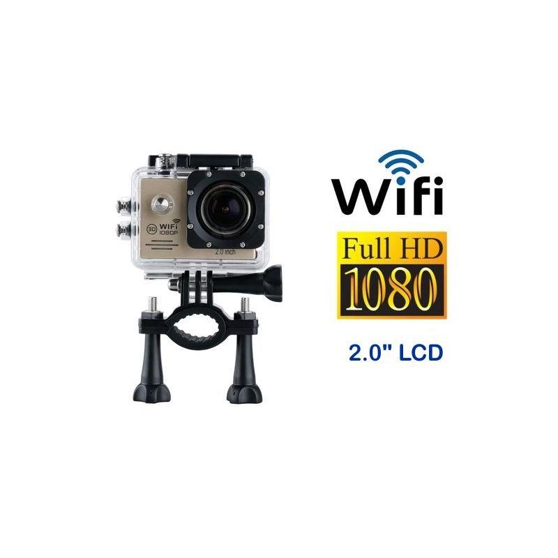 abdd1fc77 ... Camara HD 1080p mini DV controle WIFI à prova d água esportes