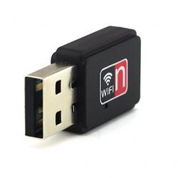RTL81EU adaptador inalambrico WiFi por USB para portatil antena mini
