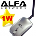 Alfa AWUS036H v5 1W RTL8187L USB WIFI dell'Antenna AWUSO36H