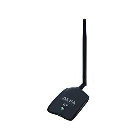 Potente antenna ricevitore Wi-Fi USB AWUS036NHA Alfa Atheros