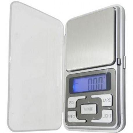 Bilancia digitale di precisione di 0.01 200g di tasca con coperchio grammi di gioielli