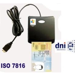 Lector de DNI-e DNI electronico smart card USB 2.0 ISO7816 EMV