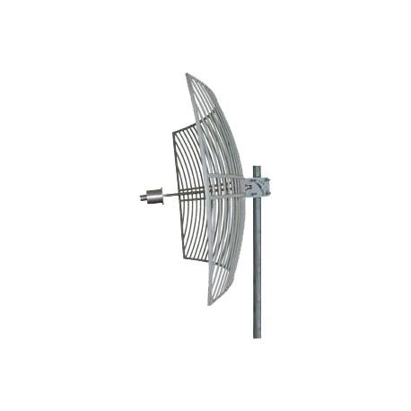 Parabólica WiFi 28dbi AGA-5828T 5.8GHz rejilla Grid antena