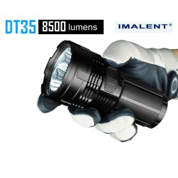 Imalent DT35 torcia elettrica ricaricabile 8500lm 1km LED potente XHP35 CIAO