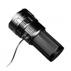 Imalent DT35 lanterna recarregável 8500lm 1km diodo EMISSOR de