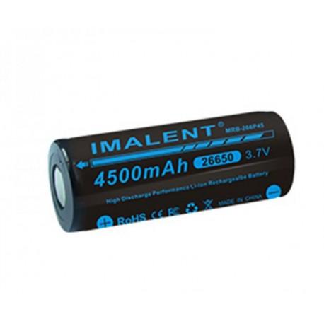 26650 batería de Li-ion recargable de la batería Imalent MRB-266P45 3.7 V 4500mAh