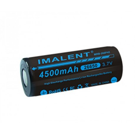 26650 batería de Li-ion recargable Imalent MRB-266P45 3.7 V