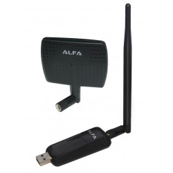 Alfa AWUS036NEH antenna USB WiFi RT3070 with panel directional 7dbi laptop