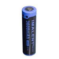 Bateria Imalent 18650 3600mah Lítio recarregável MRB-186P36 3.7