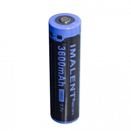 Batterie Imalent 18650 3600mah batterie rechargeable au Lithium