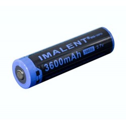 Batteria Imalent 18650 batteria 3600mah batteria ricaricabile al Litio MRB-186P36 3.7 V