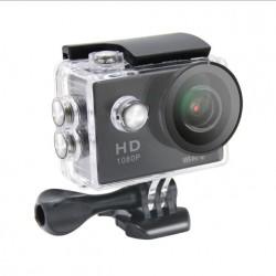 Video della fotocamera in azione in full HD a 1080p H. 264 con WIFI 170º resistente all'acqua 30m