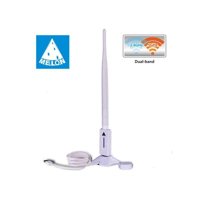 Melon ts n80 puce rt5572 longue port e omnidirectionnelle - Antenne wifi longue portee omnidirectionnelle 22 dbi ...