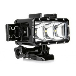 Luce a LED sommergibile azione della telecamera Gopro Hero4 / SJ4000 SJ5000 YX258 4k, 1080p